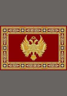 Κόκκινο χαλί με βυζαντινό αετό